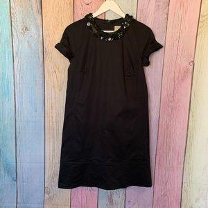 Black Burberry cocktail dress
